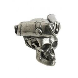 "Porte clé Tête de mort ""Pirate"""