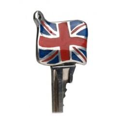 "Clé ""drapeau Anglais Email"""