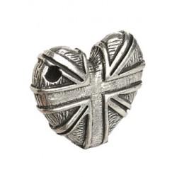 Porte clé Coeur Anglais